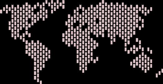 Carte du monde TheONE