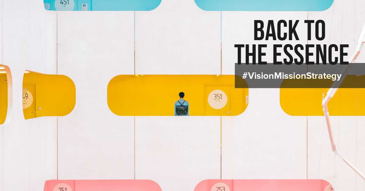 The difference between a vision, mission and strategy explained