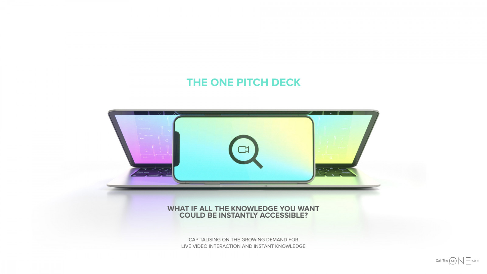 theone-pitch-deck-ejemplo-teaser