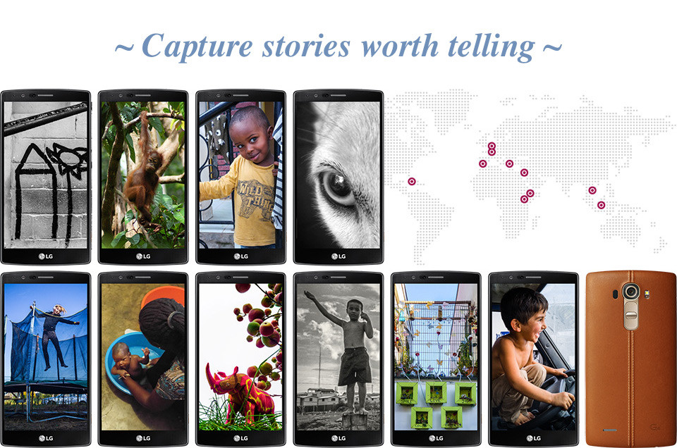 Capture optimism stories