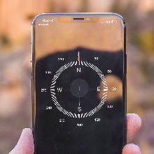 Feedback ontvangen met een gekalibreerd intern kompas