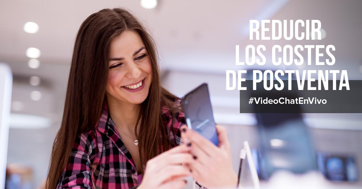 Integración de las videollamadas reduce los costes de postventa