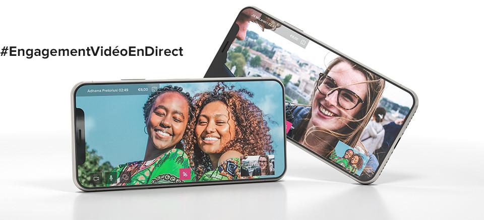 CallTheONE Engagement vidéo en direct