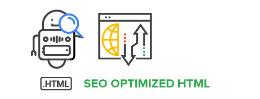 SEO optimized HTML