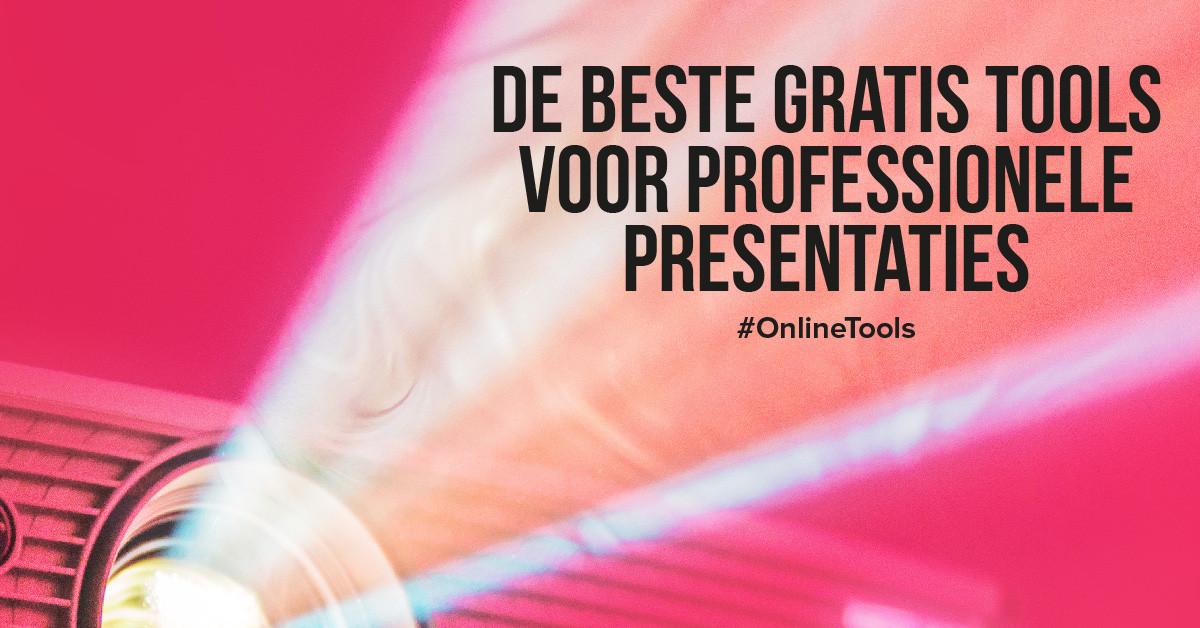 De beste gratis tools voor professionele presentaties