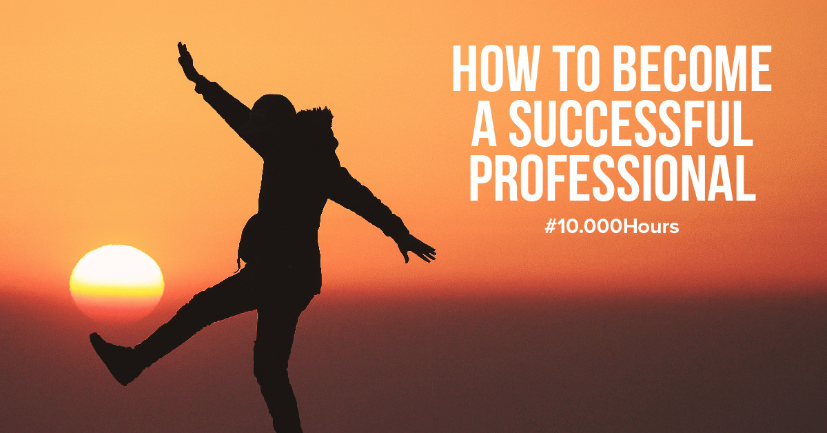 How do you become a professional in your field?