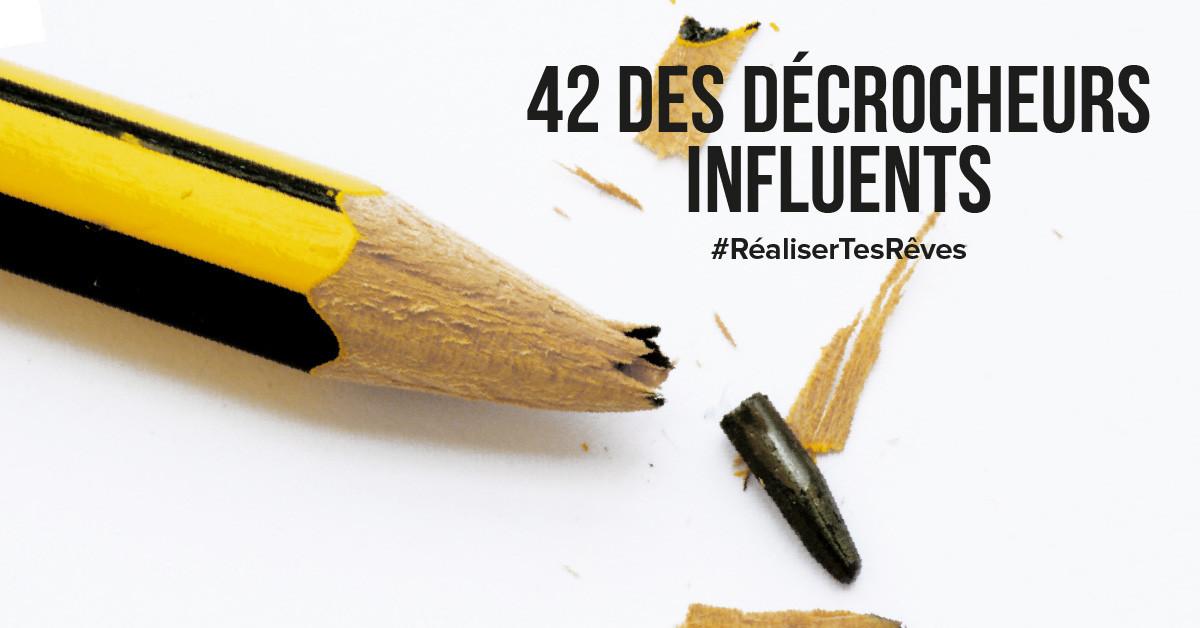 42 Des décrocheurs influents qui ont changé le monde