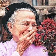 Wie kann man glücklich und gesund alt werden?
