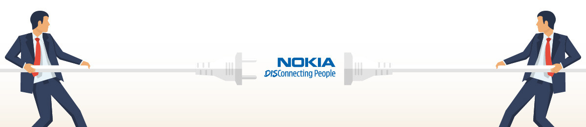 Nokia disconnecting people
