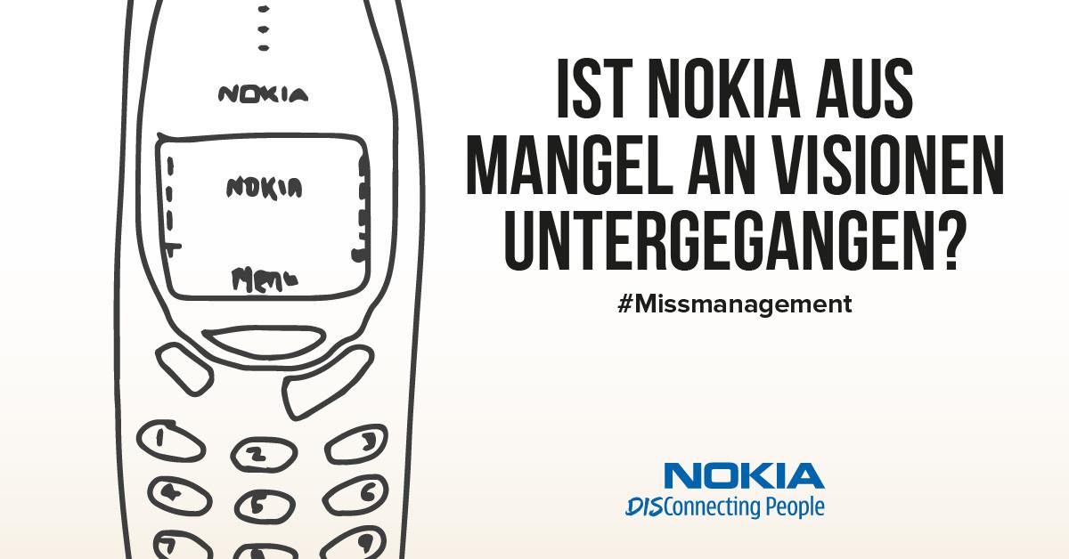 Ist Nokia aus Mangel an Visionen untergegangen?