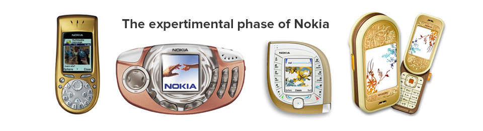 The expertimental phase of Nokia
