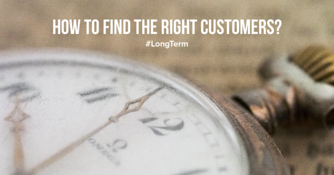 How to find the right customers?