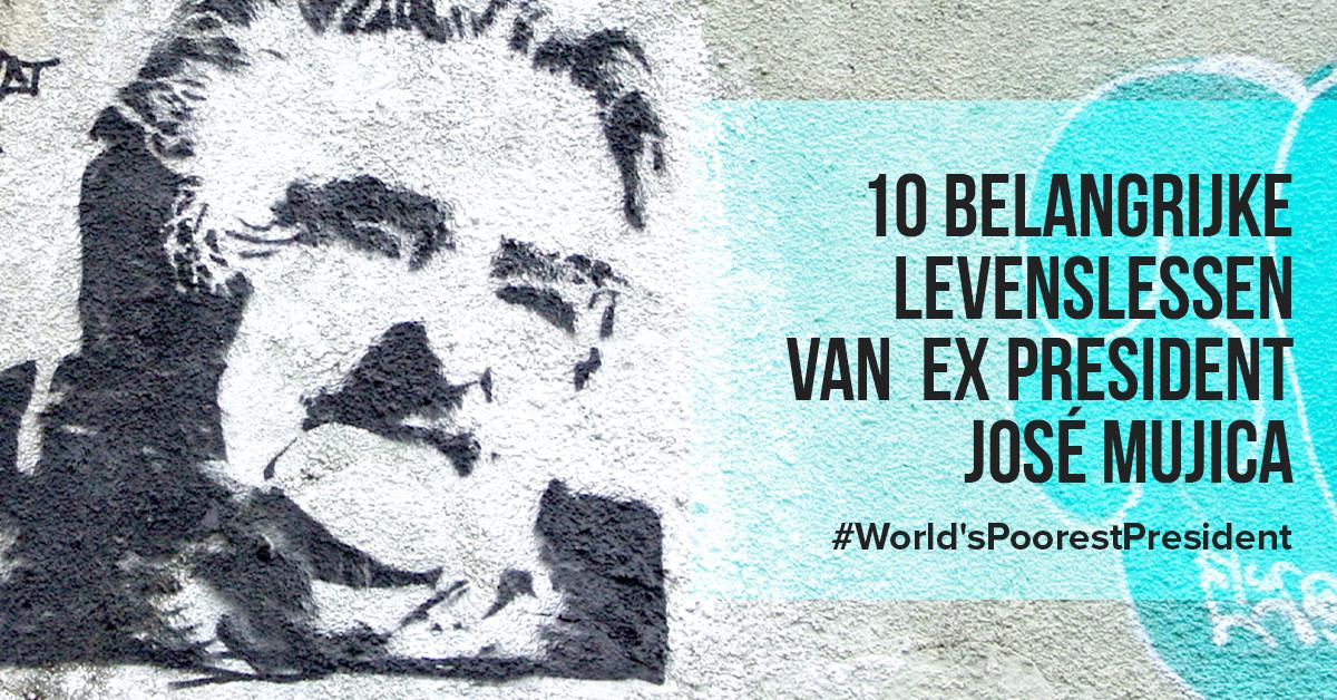10 belangrijke levenslessen van ex president José Mujica