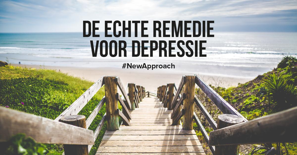 De nieuwe remedie voor depressie is misschien eenvoudiger dan je denkt
