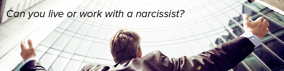 Can you live or work with a narcissist