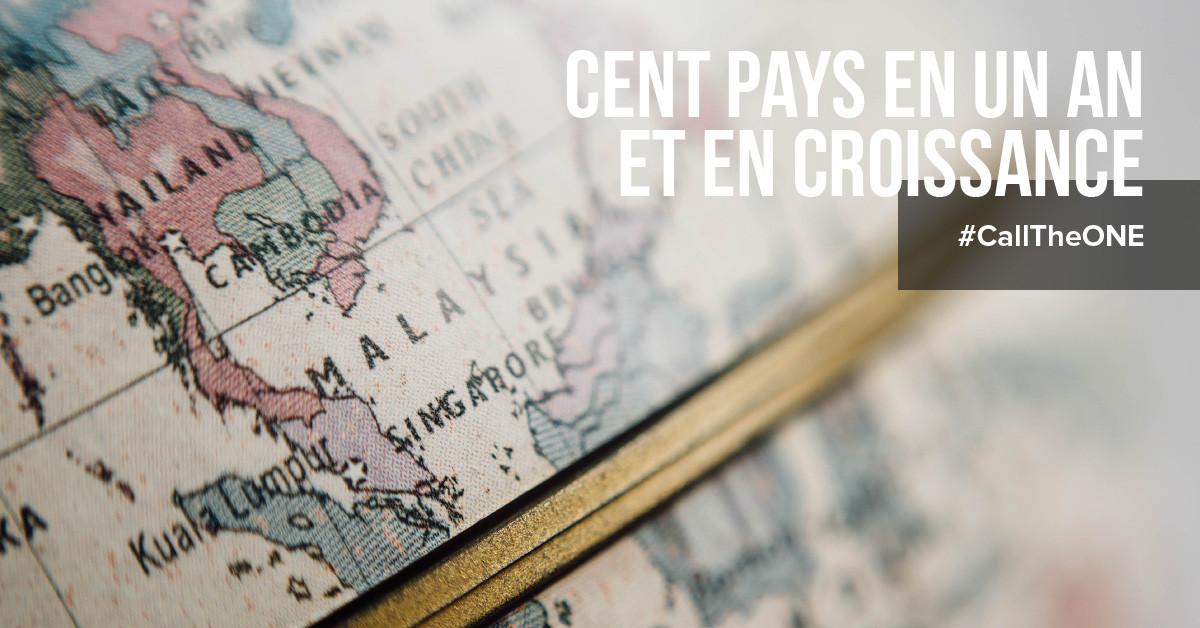 La croissance rapide de la startup TheONE à plus de 100 pays