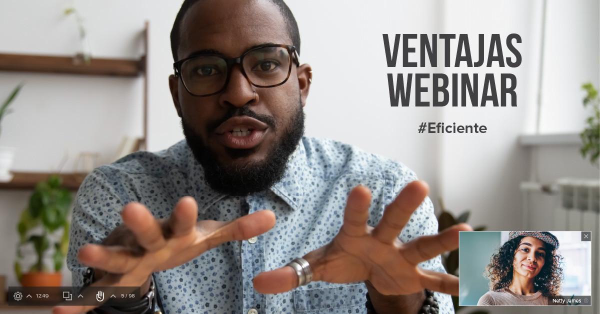 Las 7 ventajas de dar un seminario web