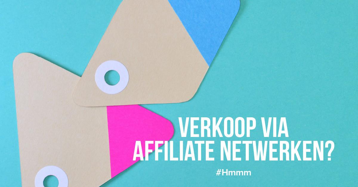 Kun je voor verkoop genereren via affiliate netwerken?