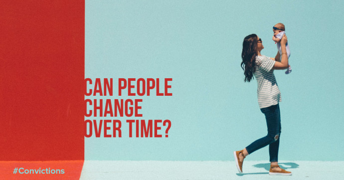 Can people change over time?