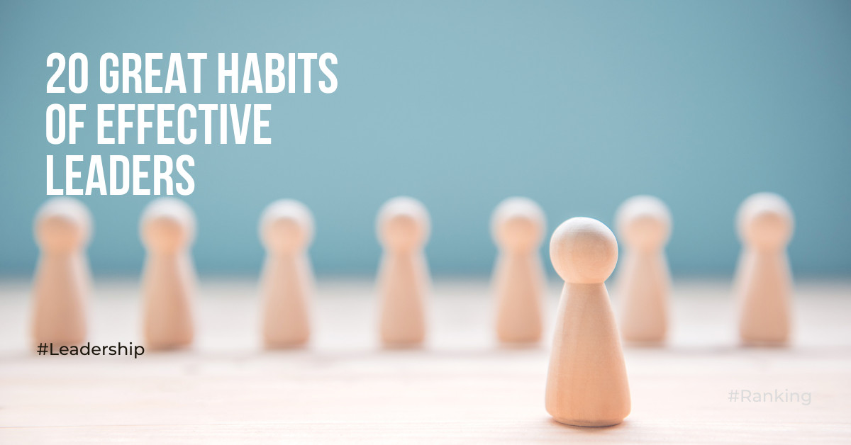 20-great-habits-of-effective-leaders