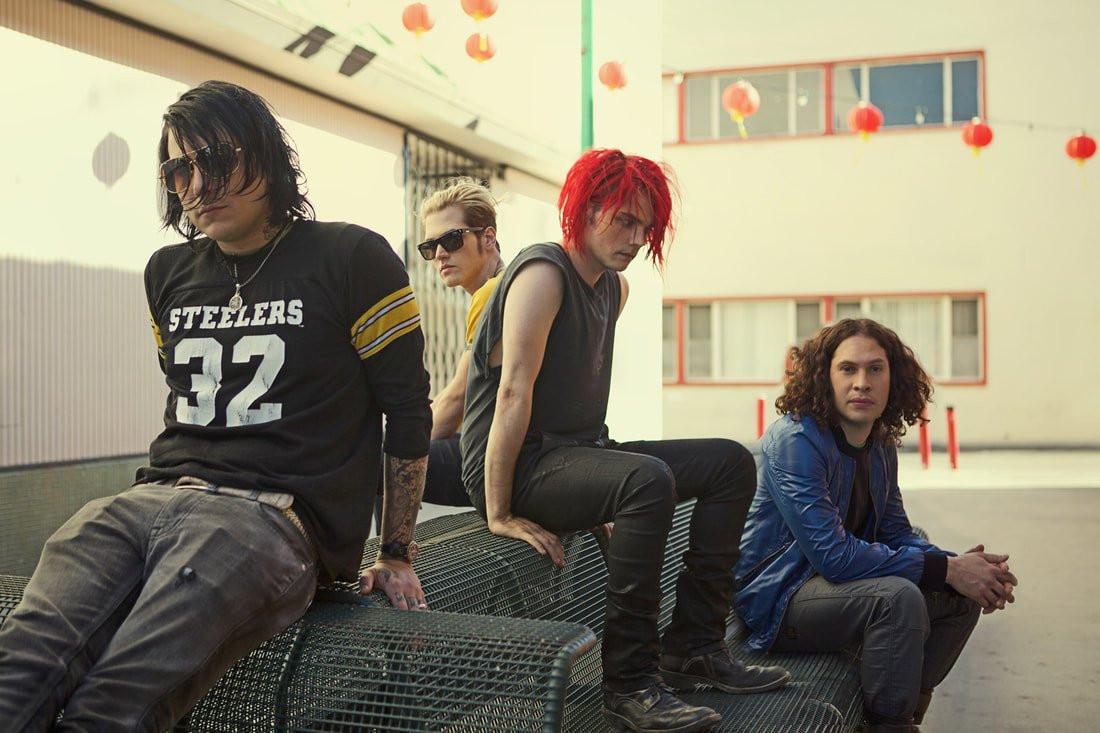 reunión de My Chemical Romance