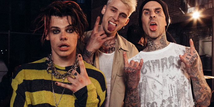 Yungblud, Machine Gun Kelly & Travis Barker Want To Record An EP Together
