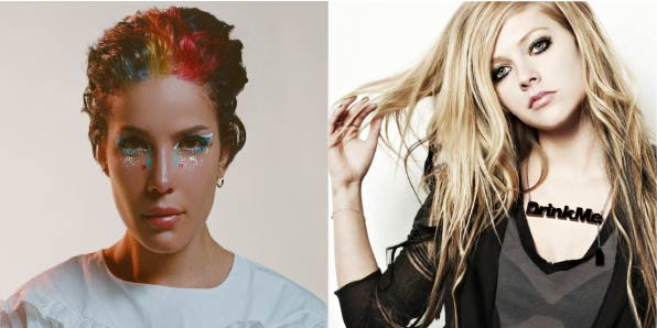 Halsey Avril Lavigne Performed Girlfriend Together Strife Magazine
