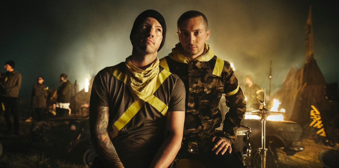 """Twenty One Pilots Wrap Up Bandito Tour With Special Compilation Of """"The Hype"""""""
