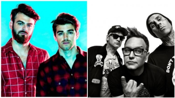 Blink-182 & The Chainsmokers Are Releasing A Collaborative Song This Week
