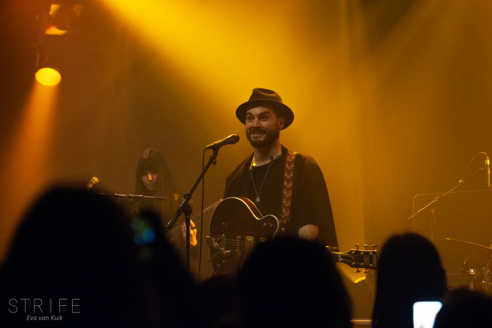 LIVE REVIEW: Michael Malarkey Takes Brand New Album 'Graveracer' To Sold-Out Amsterdam Crowd