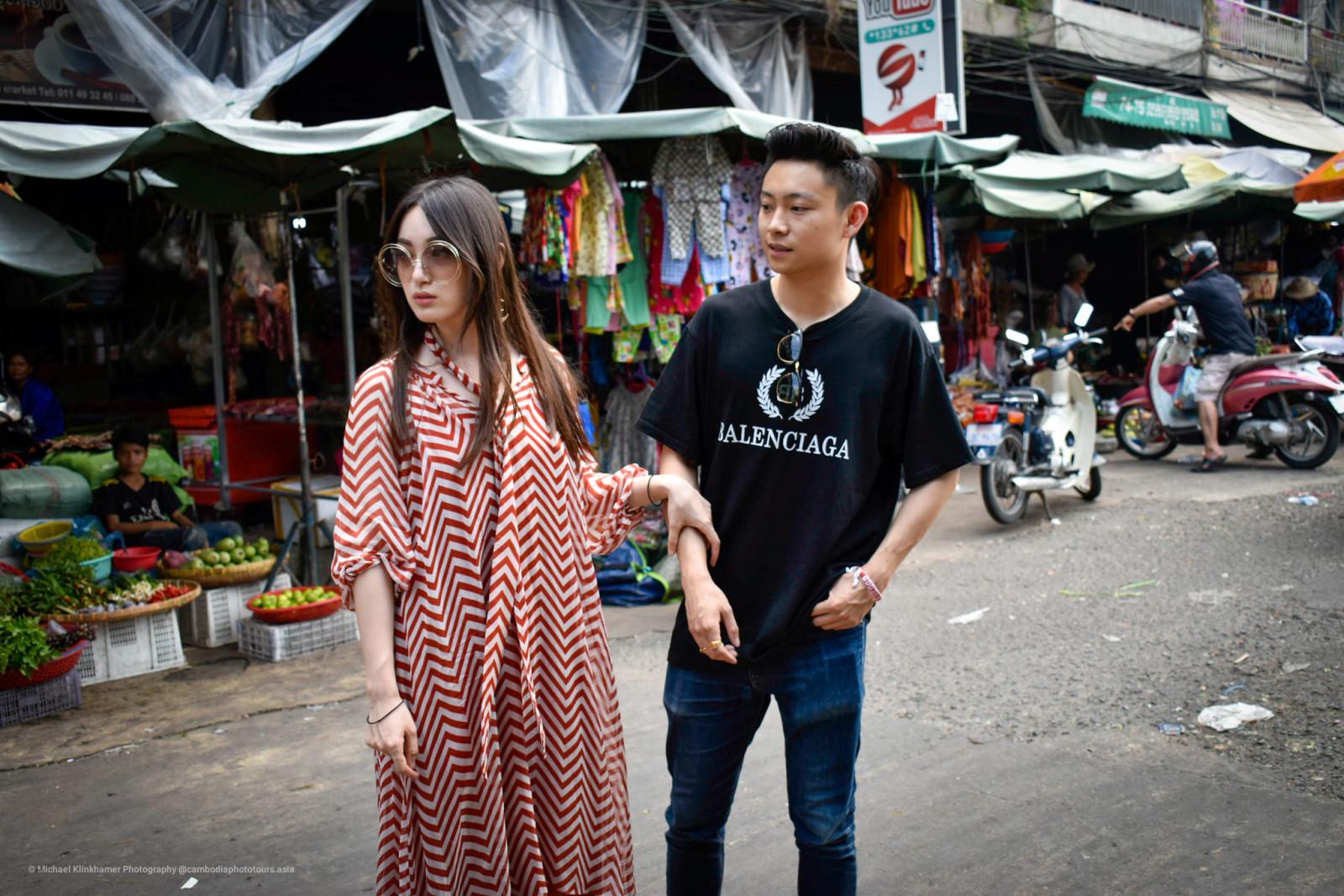 Phnom Penh local market