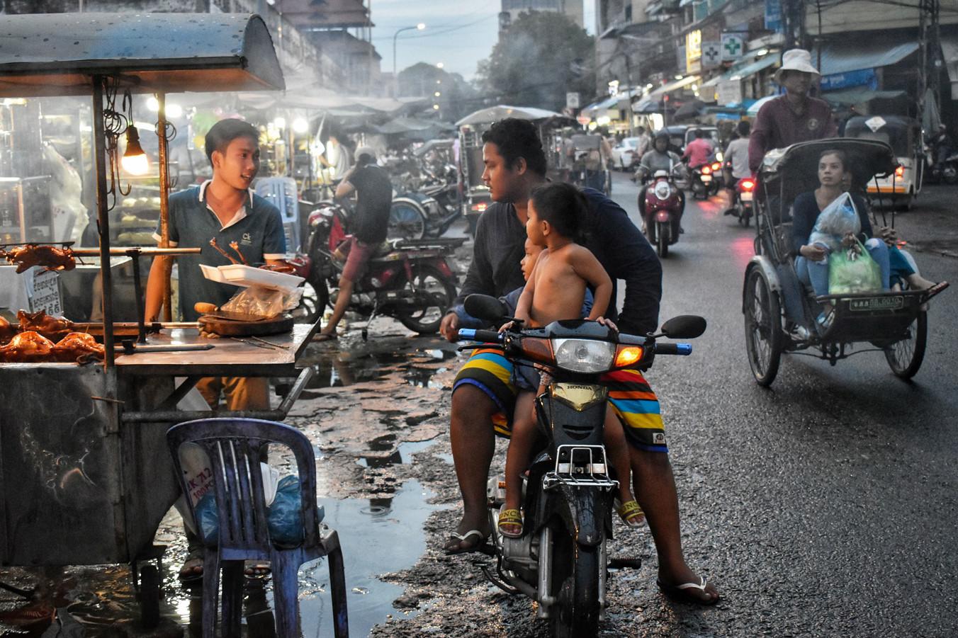 La ville vivante de Phnom Penh