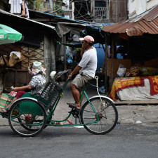 The Rickshaws of Phnom Penh