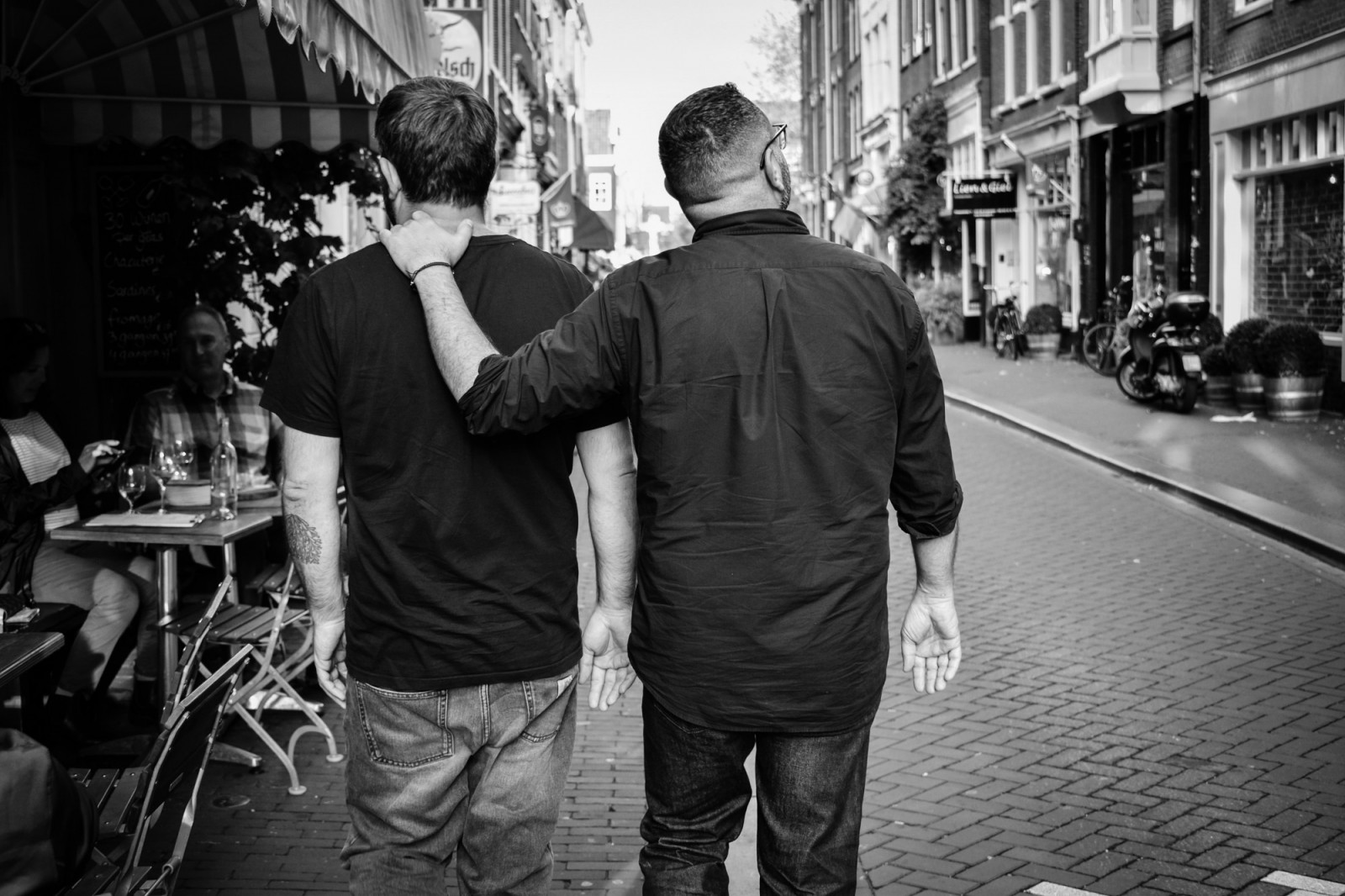 friends in Amsterdam