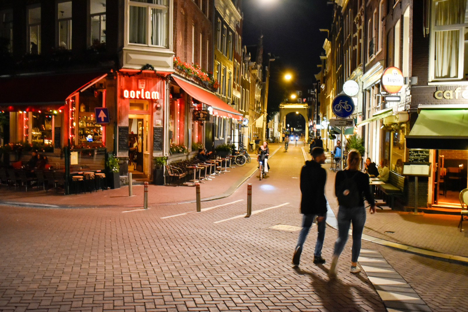 Amsterdam photo tour by night