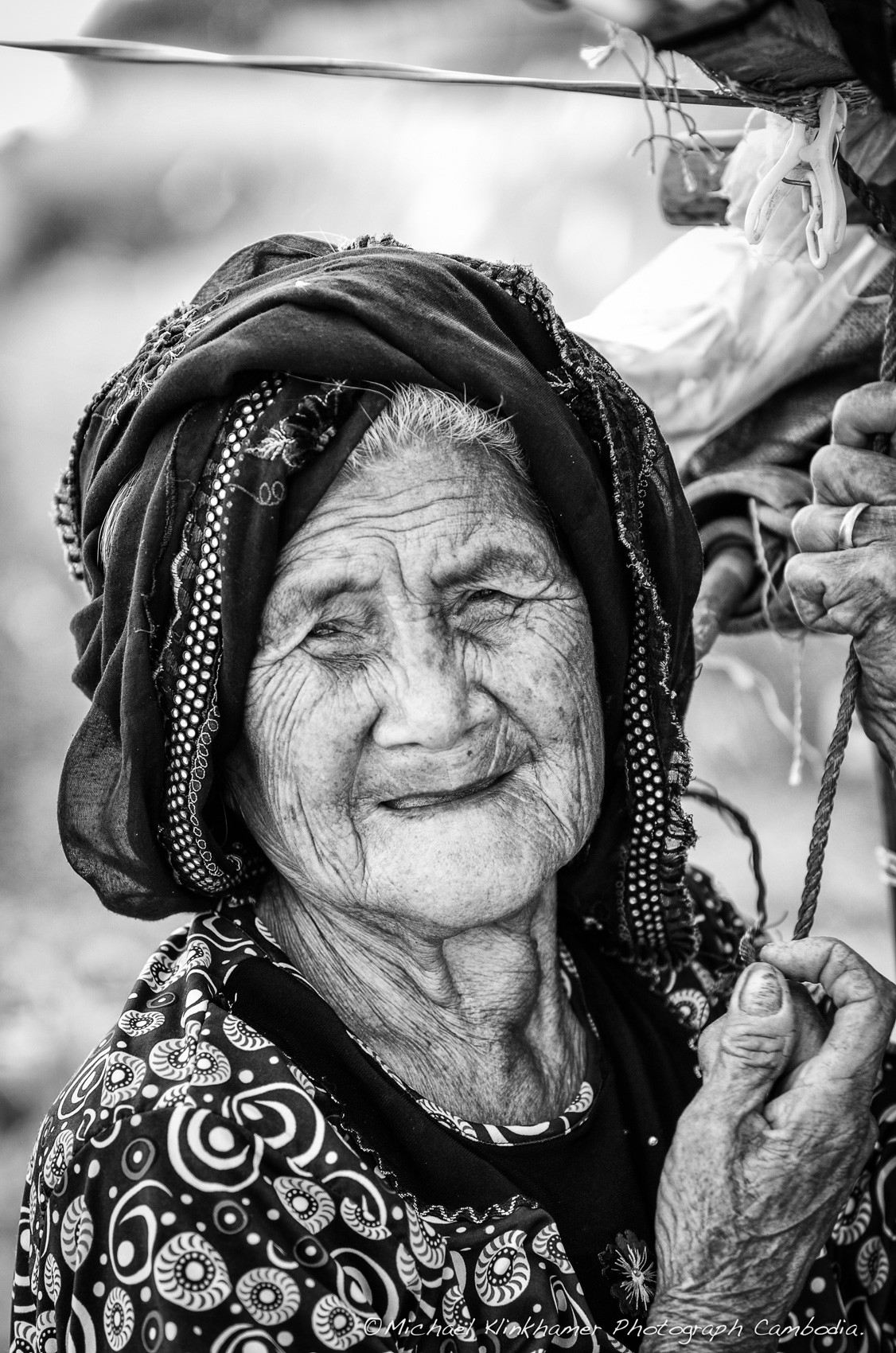 Cham old woman