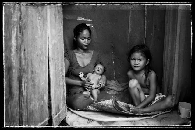 Poverty family Phnom Penh