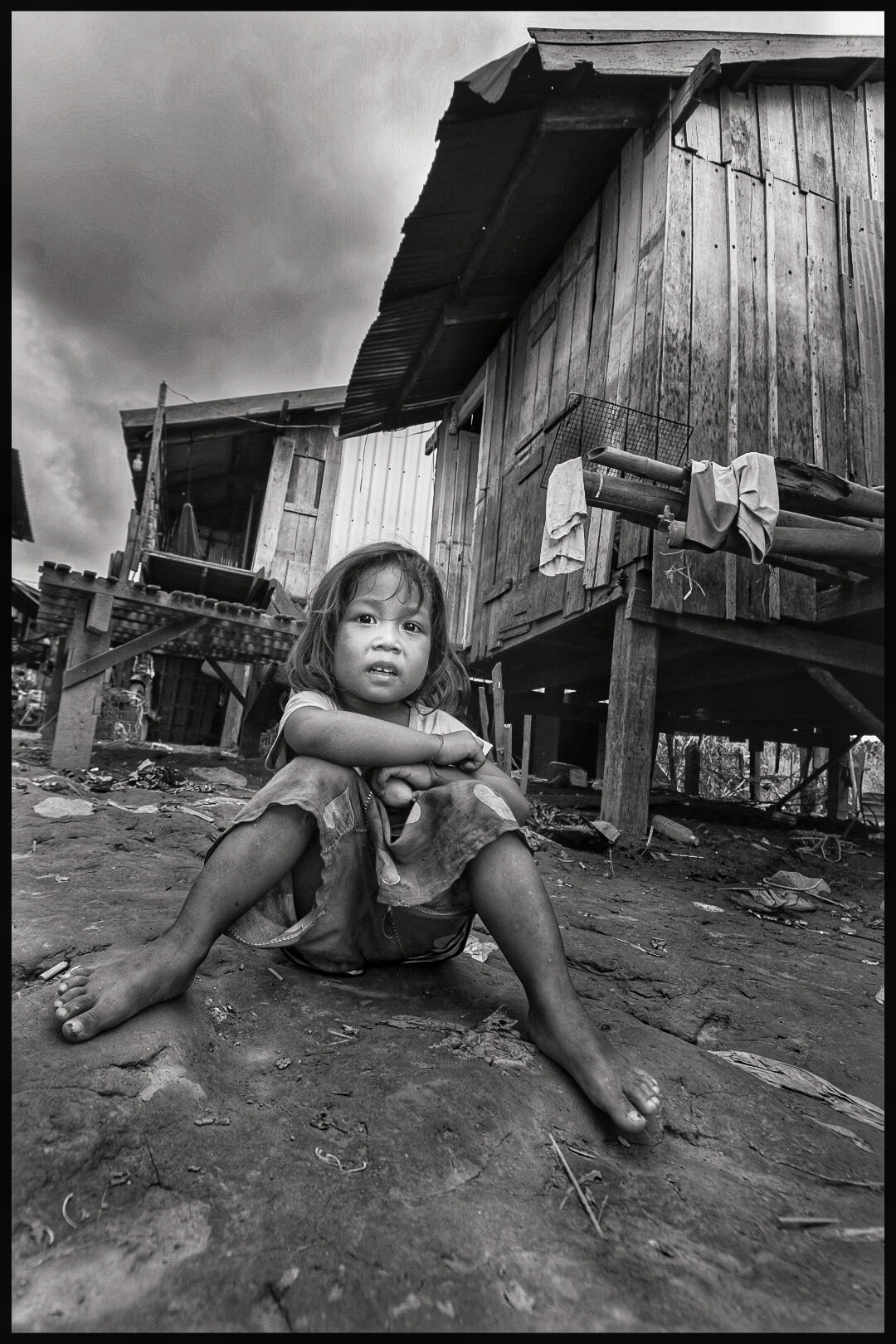 Poverty child Phnom Penh