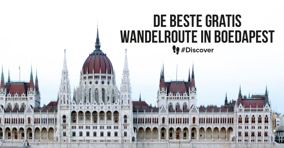 De beste gratis wandelroute in Boedapest