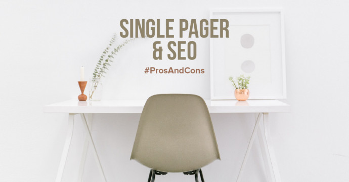 Pros And Cons For a Single Page Website For SEO
