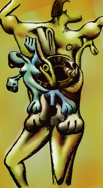 man-giving-birth-drawing-in-color