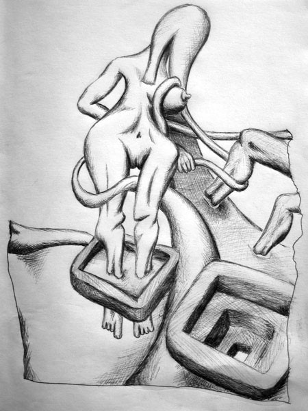 woman-seducing-a-man-black-and-white-pen-drawing