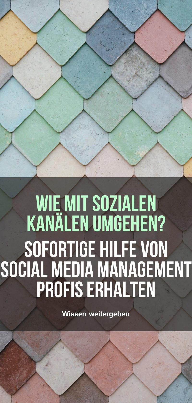 Social Media Management Spezialisten