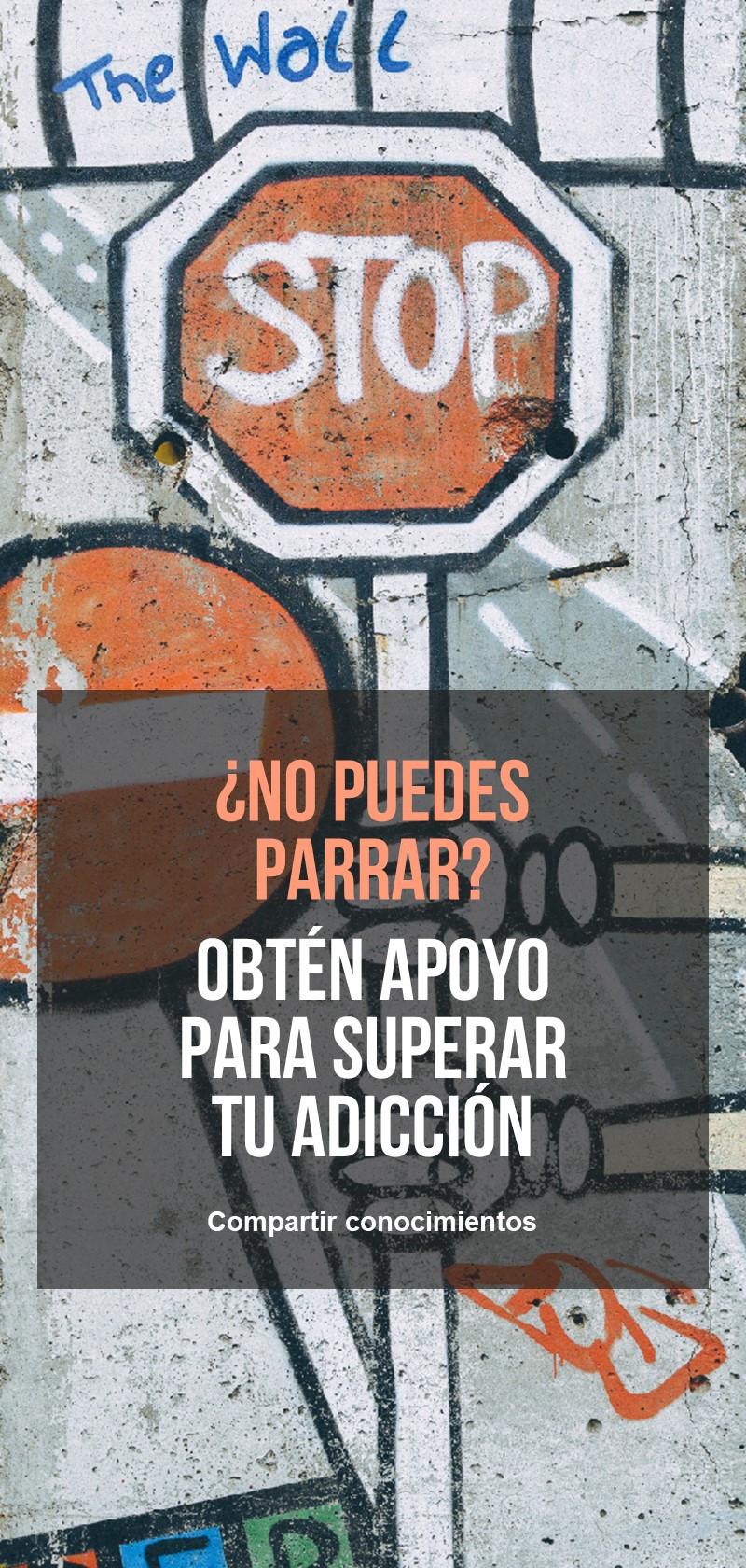Apoyo para superar la adicción