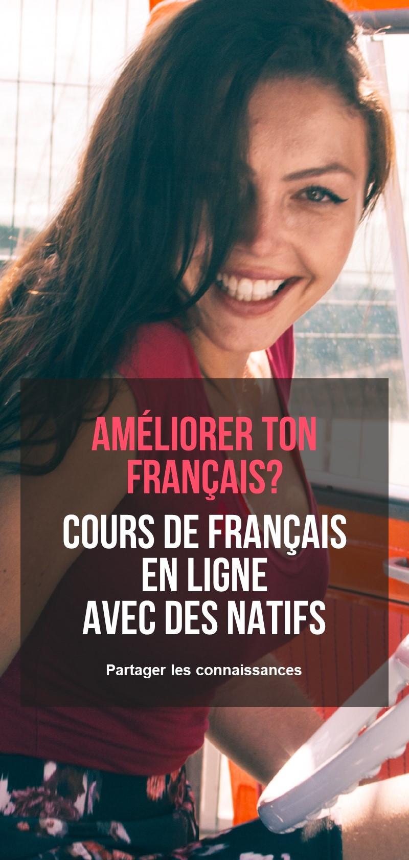 Apprendre le français en ligne pour les débutants
