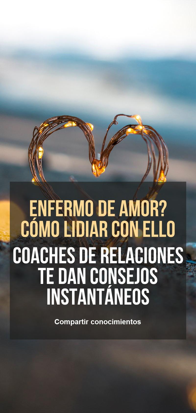 Coaches de la pena del amor