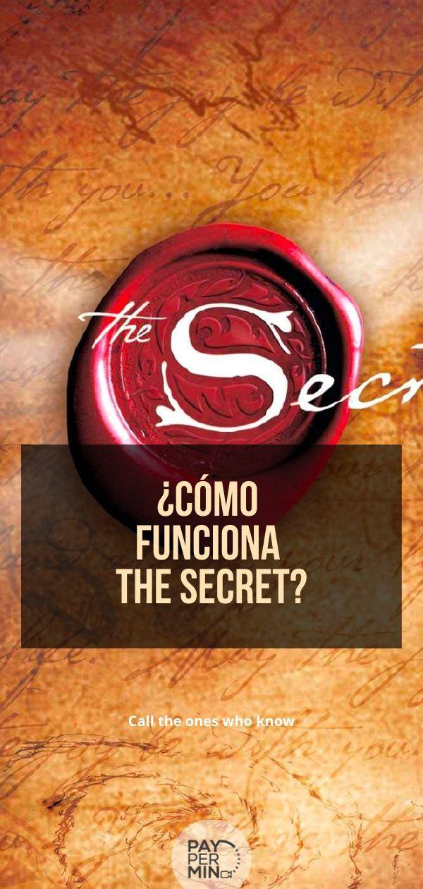 ¿Cómo funciona The Secret?