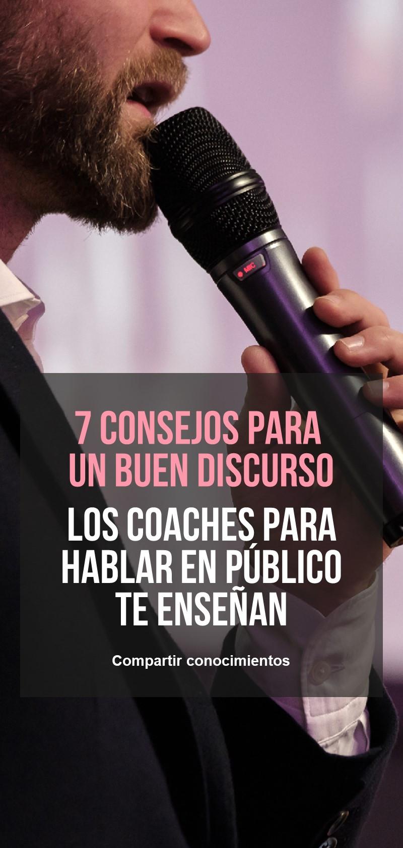 Consejos y técnicas para hablar en público