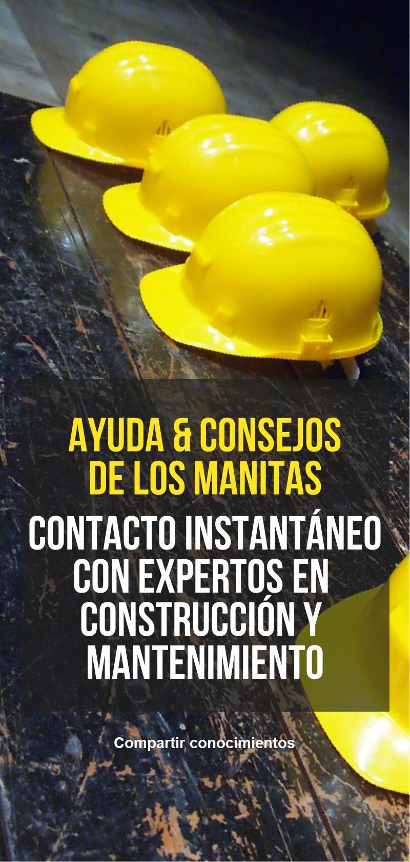 El consejo de un manitas, un constructor o un especialista en construcción
