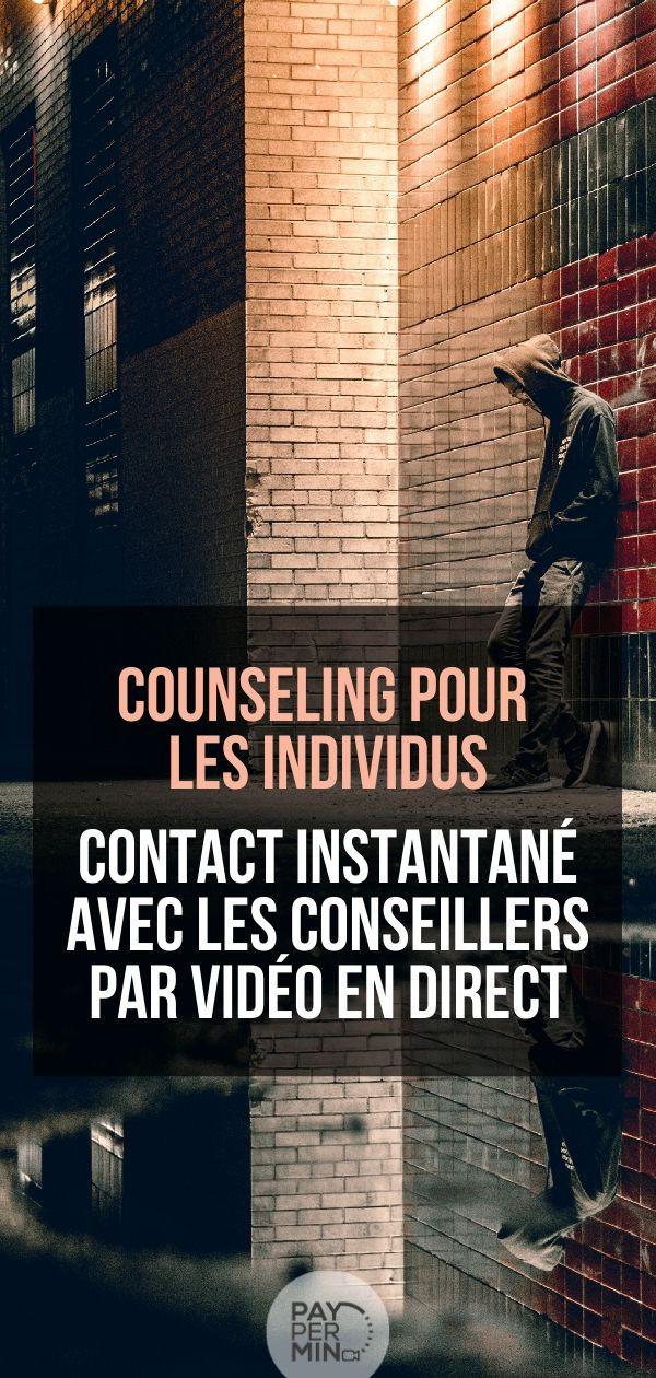 Counseling pour les individus